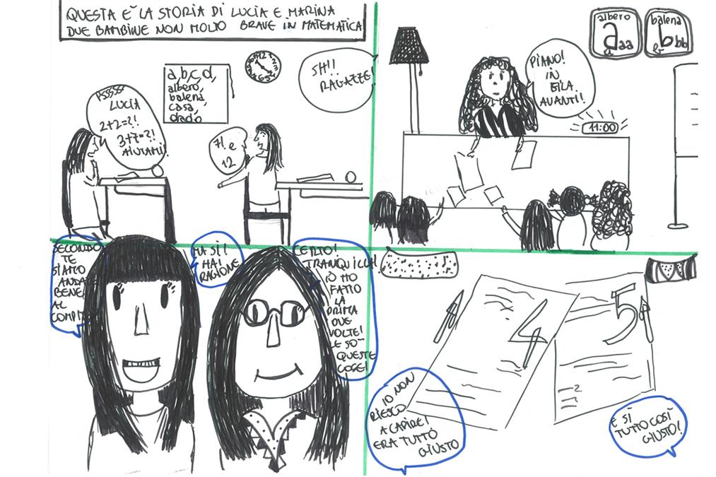 La storia di Lucia e Marina