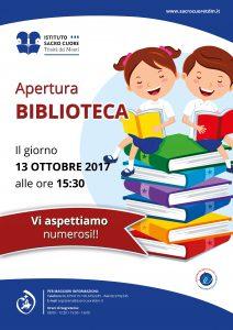 Istituto Sacro Cuore - Apertura Biblioteca