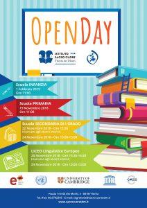 Istituto Sacro Cuore - Open Day 2018/2019